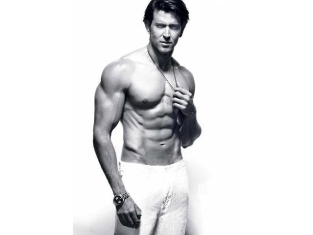 Hrithik in a photoshoot for Men's Health magazine. (Twitter)