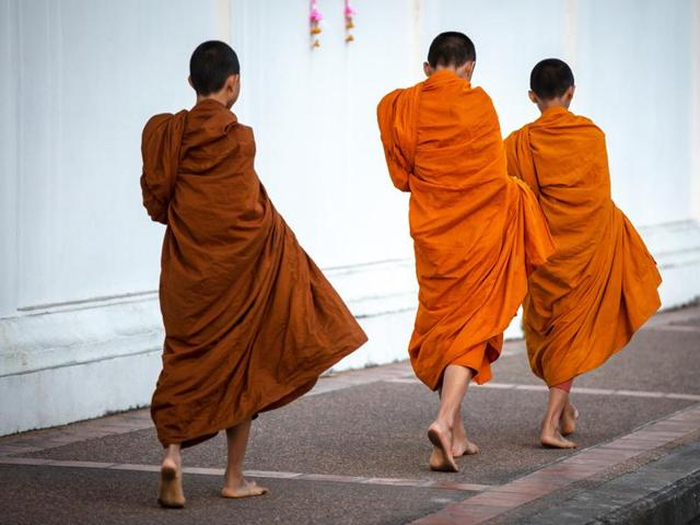 Thai gardener becomes monk
