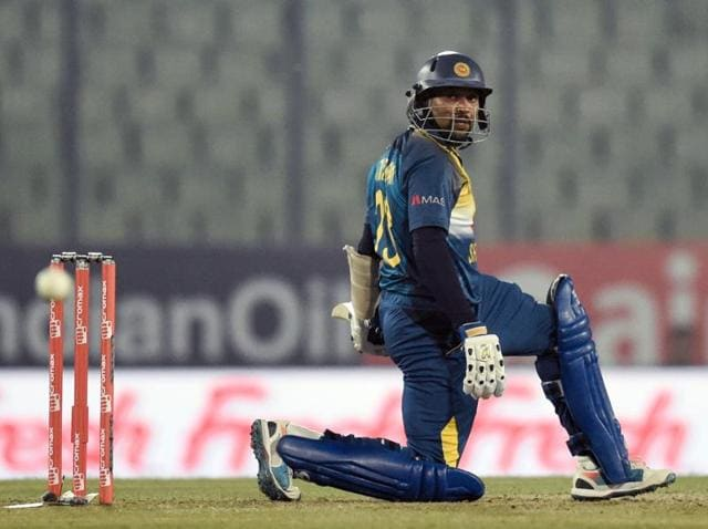 Sri Lanka will look to Tillakaratne Dilshan to help ensure they chase down Afghanistan's 153/7 comfortably.