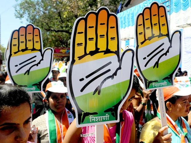 The Congress staked claim to 94 seats.