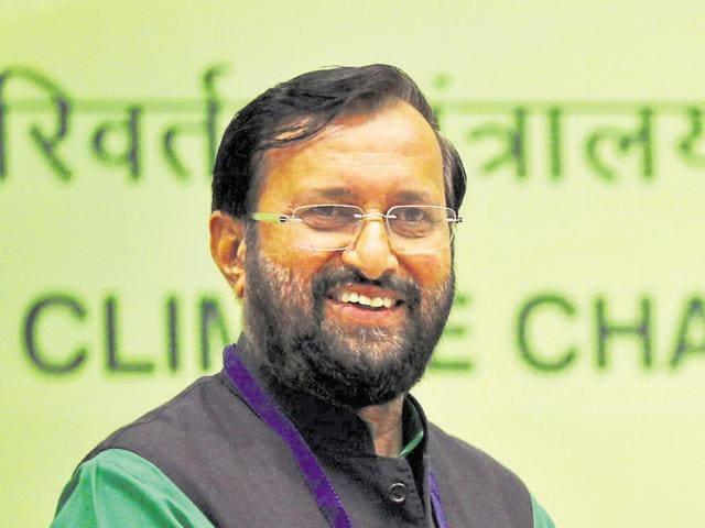 Union forest minister Prakash Javadekar.