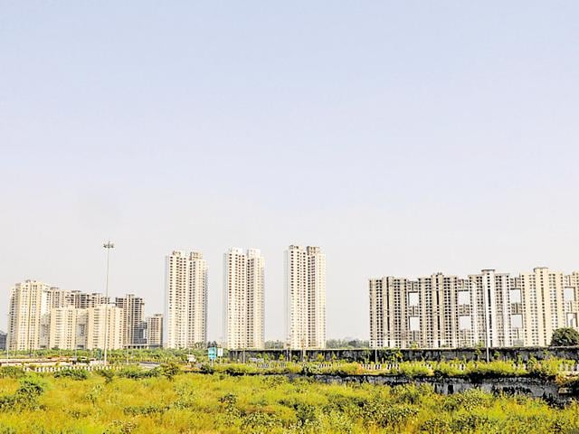 Around 20 homebuyers met Noida authority officials to oppose a proposal to allow additional floor area ratio for buildings located on roads more than 18 metre wide.