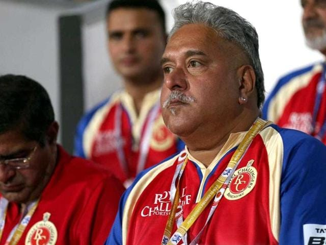 Royal Challengers Bangalore has written to the BCCI, intimating them about Vijay Mallya's resignation from the post of Director of Royal Challengers Sports Private Limited.