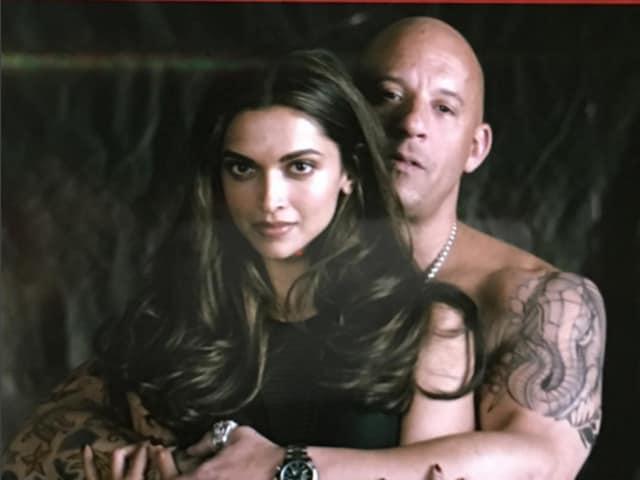 Deepika Padukone and Vin Diesel in xXx: the Return of Xander Cage.