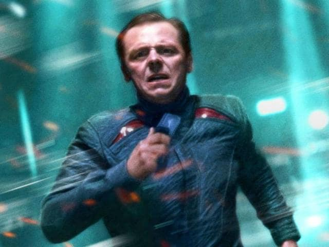 Simon Pegg beams himself up to Spielberg's Ready Player One.