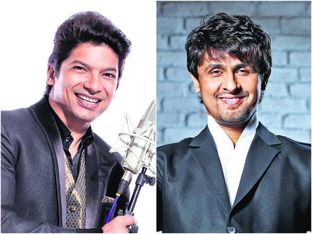 Shaan and Sonu Nigam regularly take part in charity functions.