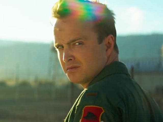 Breaking Bad's Aaron Paul plays the moral centre of the film.