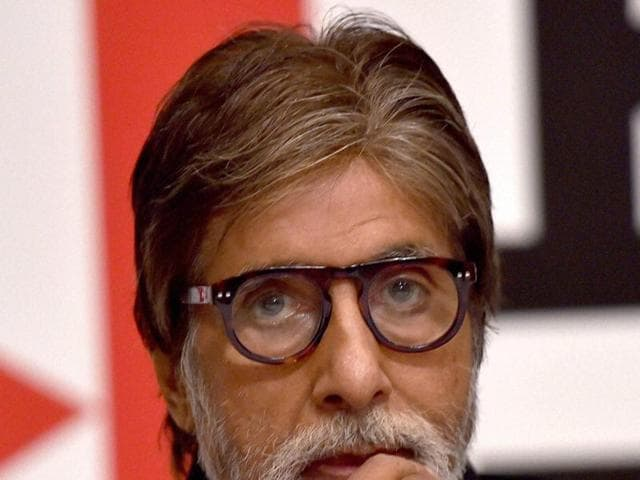 Actor Amitabh Bachchan says his grand daughter Navya Nanda is not on Twitter.