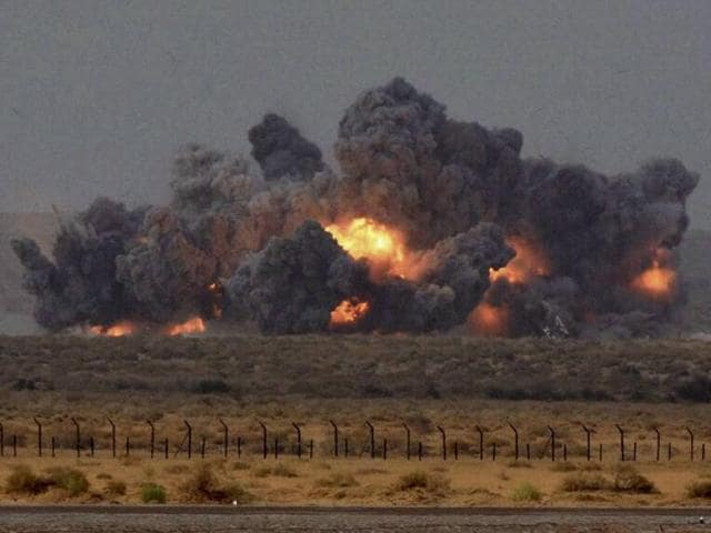 Indian Air Force,Iron Fist exercise,Pokhran