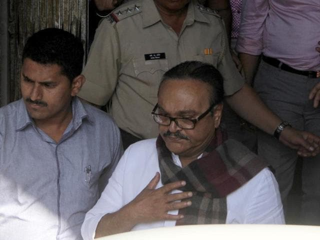 Bhujbal lodged in barrack that housed Kasab, Dutt