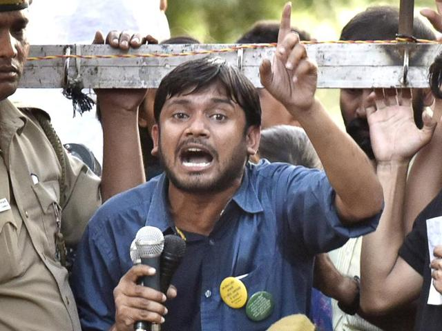 JNU Students' Union president Kanhaiya Kumar, who was charged with sedition, denied supporting Kashmiri militant Afzal Guru.