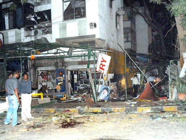 German Bakery blast,Himayat Baig,Pune blast