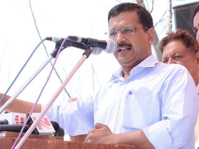 Delhi CMArvind Kejriwal was speaking in response to Haryana's irrigation minister Om Prakash.