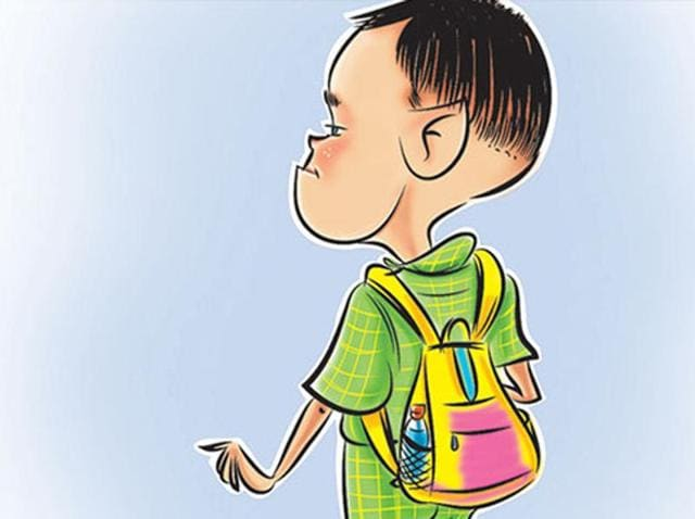 The Punjab government's decision of providing free school bags  and stationery to  girl students have left the boys disappointment.