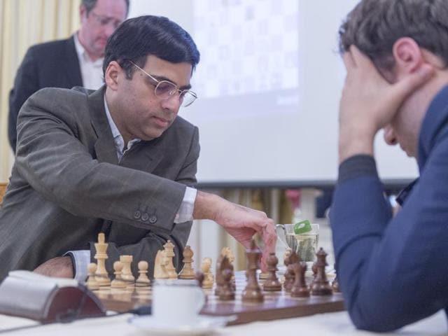 Afile photo of Indian grandmaster Viswanathan Anand.