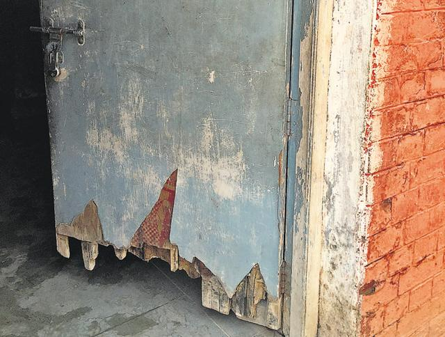 The condition of toilets in most government schools is pathetic.