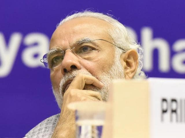 PMNarendra Modi will deliver the Ambedkar memorial lecture on Monday.