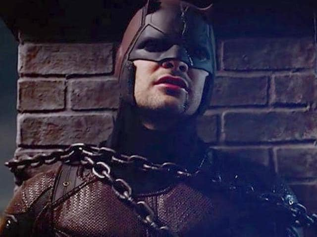 Daredevil has evolved into a confident vigilante in season 2, and is sure of his intentions and method of delivering justice.