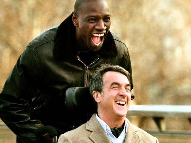 French film The Intouchables stars Francois Cluzet and Omar Sy.