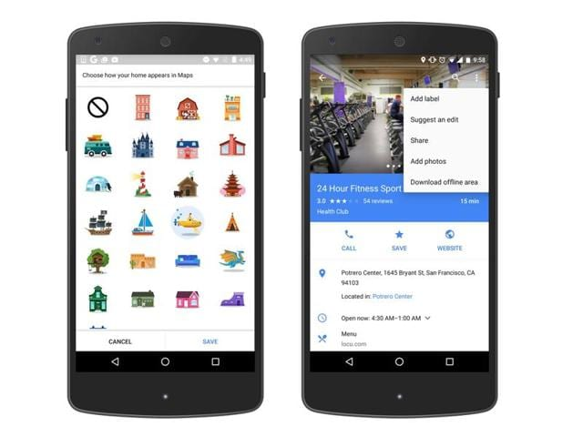 Users can also ascribe stickers to their areas of interest like gym and favourite places to eat, to hangout.