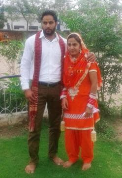 Victims Rajwant Kaur and Harwinder Singh had got married 18 months ago against the wishes of the Rajwant's family.