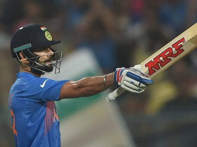 Once again, it was Virat Kohli who anchored India to a win over Pakistan.