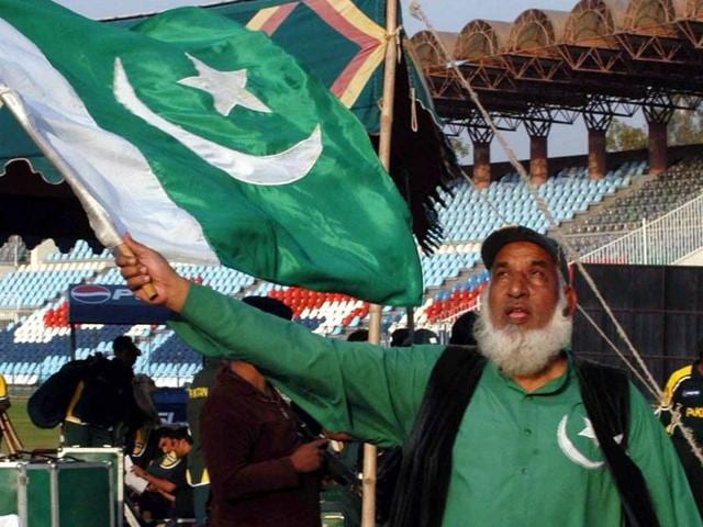 Abdul Jalil who waves the Pakistani flag during every match the Pak cricket team plays would be missing out on the Indo-Pak encounter for the first time since 1998.