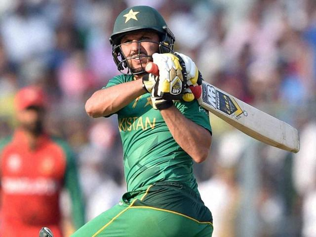 Pakistan skipper Shahid Afridi looked in ominous form against Bangladesh.