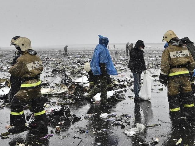 Russia plane crash,FlyDubai plane crash,Rostov'on'don airport