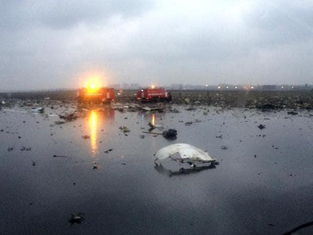 Flydubai jet crashes in Russia,FlyDubai plane crashes in Russia,Plane crash in Russia