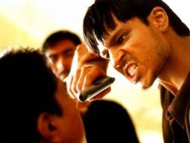 Vivek Oberoi in a still from Company. (YouTube)