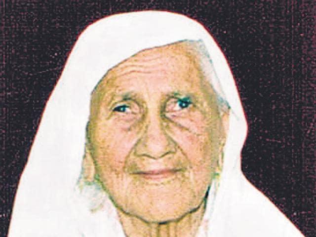 Gurdial Kaur, 99