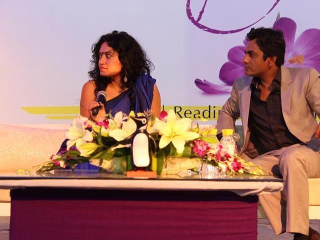 Nawazuddin and Rituparna Chatterjee are working on the actor's memoir. (HTPhoto)
