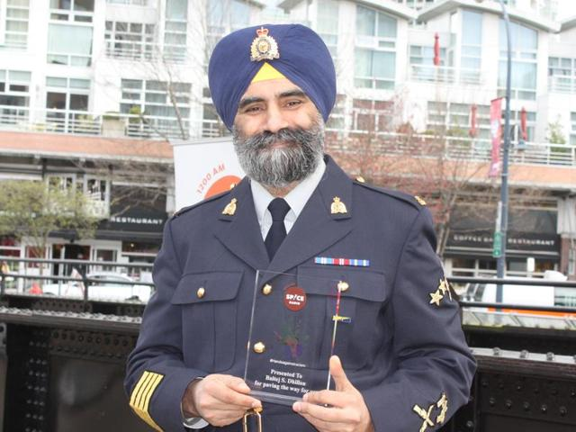 Dhillon's appointment in 1990 had stirred lot of controversy as it led to quite the racist backlash with rightwing groups openly opposing his recruitment. However, he won the fight despite many challenges and hostility.(HT Photo)