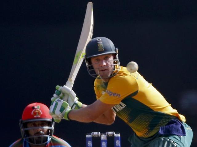 World T20,South Africa vs Afghanistan,AB de Villiers