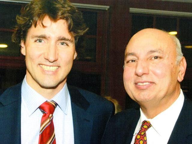 Canadian politics,Justin Trudeau,Herb Dhaliwal
