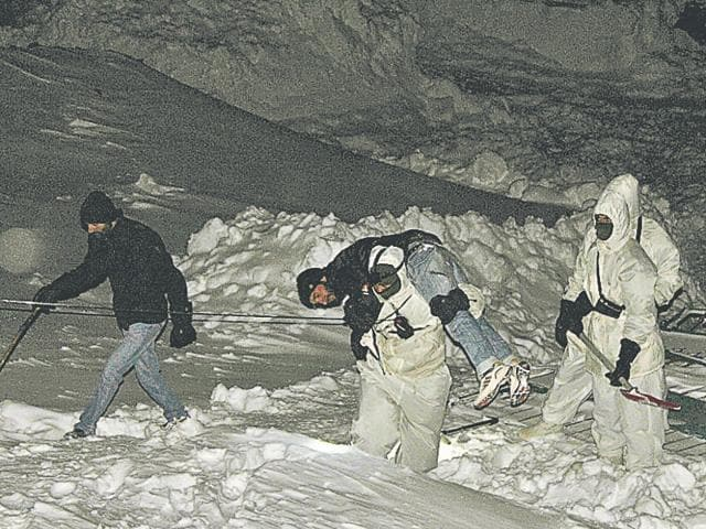 Avalanche in Kargil,Indian Army,Siachen avalanche