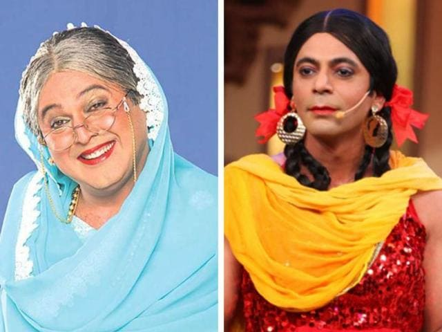 Asgar and Grover, who played female characters Dadi and Gutthi in Colors' hit TV show Comedy Nights With Kapil, said that their kids do think really highly of them cross-dressing for a living.