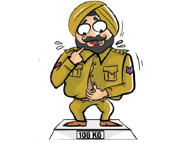 Patiala police,Police officers unfir,'Overworked'