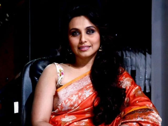 Rani Mukerji made her first public appearance since giving birth to Adira.