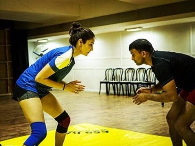 Anushka is training hard for Sultan.