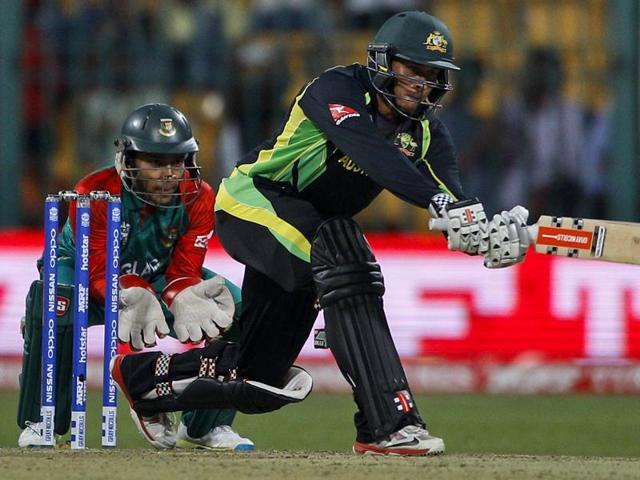 Australia vs Bangladesh,World T20,Usman Khawaja