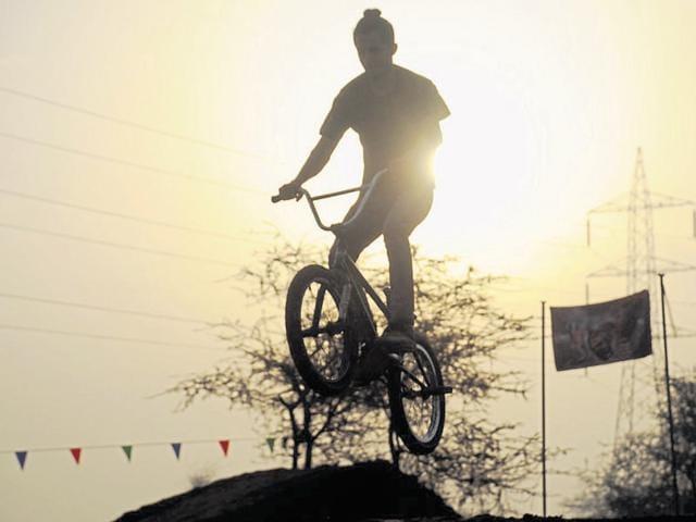 Gurgaon,NCR,Cycling