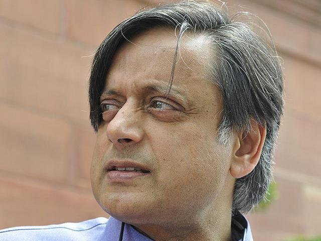 While listing the names of victims of sedition law under British rule Tharoor said Bhagat Singh was the Kanhaiya Kumar of his time.