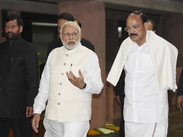 Prime Minister Narendra Modi,M Venkaiah Naidu,BJP national executive meet
