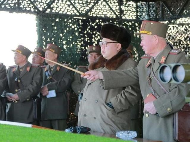 North Korea's nuclear programme,N Korea test fires short-range missiles,UN sanctions on N Korea