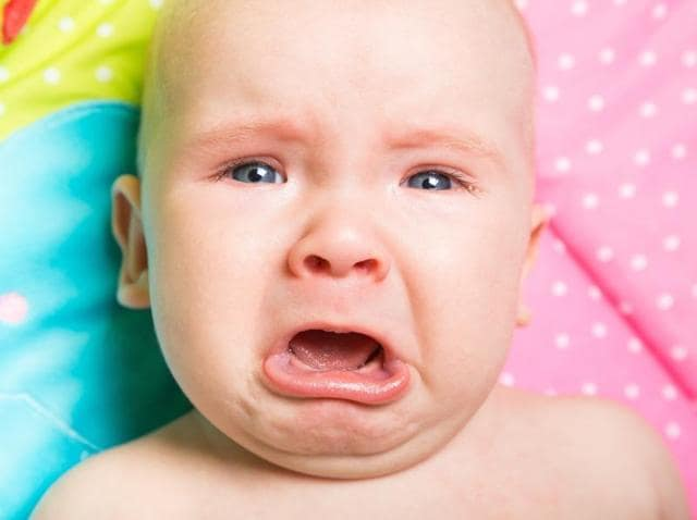 Research suggests that babies will do whatever they can to avoid being the target of anger.