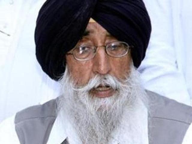 Shiromani Akali Dal (Amritsar) president Simranjit Singh Mann.