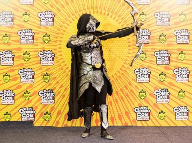 HT48Hours,Cosplay in India,Comic Con India