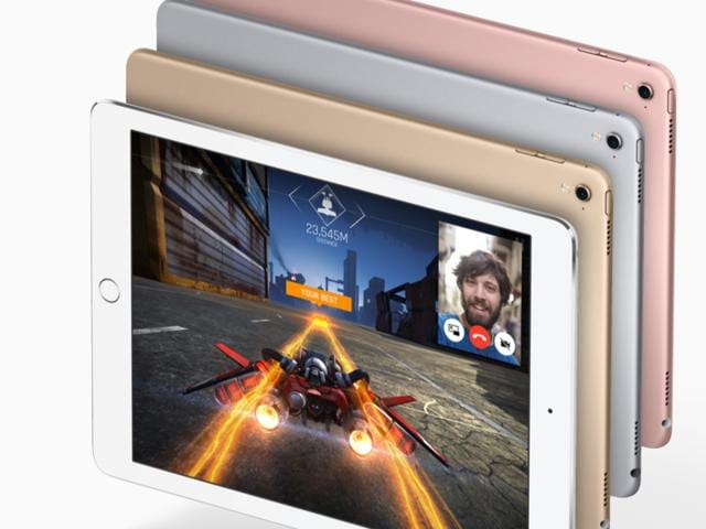 The new iPad Pro is available in Rose Gold and offers storage up to 256 GB. Apple aggressively suggests that the iPad is a great replacement for your laptop. Unless you deal with zip files which aren't quite easy to open on an iPad.